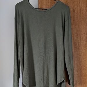 NWOT Army Green Aerie Sweater